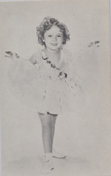 1930's Shirley Temple Exhibit Card  #*#