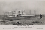 1908 Post Card #67 Wright Brothers Aviation London, England Real Photo  #*
