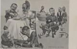 1904 Postcard Theodore Roosevelt Satire  #*