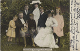 1906 Post Card President Theodore Roosevelt And Family  #*