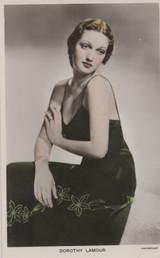 1930's Postcard C304 Dorothy Lamour  @*