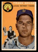1954 Topps #163 Frank House Ex-Mint