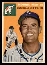 1954 Topps #168 Morrie Martin Excellent+  ID: 312133