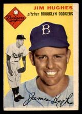 1954 Topps #169 Jim Hughes Very Good  ID: 312134