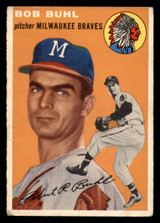 1954 Topps #210 Bob Buhl Very Good RC Rookie  ID: 312138
