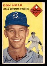 1954 Topps #211 Don Hoak Very Good  ID: 312139