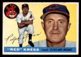 1955 Topps #151 Red Kress CO Good  ID: 312246