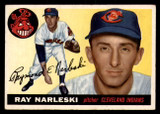 1955 Topps #160 Ray Narleski Very Good RC Rookie