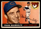 1955 Topps #172 Frank Baumholtz UER DP Very Good  ID: 312254