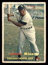 1957 Topps #138 Minnie Minoso UER G-VG  ID: 312270