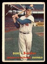 1957 Topps #170 Duke Snider Good  ID: 312271
