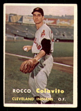 1957 Topps #212 Rocky Colavito UER Very Good RC Rookie