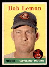 1958 Topps #2 Bob Lemon UER Excellent+  ID: 312277