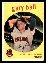 1959 Topps #327 Gary Bell VG-EX RC Rookie