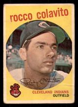 1959 Topps #420 Rocky Colavito G-VG