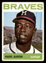 1964 Topps #300 Hank Aaron Very Good  ID: 312309