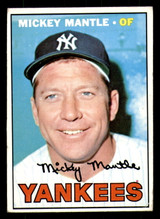 1967 Topps #150 Mickey Mantle VG+