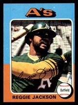 1975 Topps #300 Reggie Jackson Excellent  ID: 312334