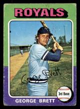 1975 Topps #228 George Brett Good RC Rookie  ID: 312336