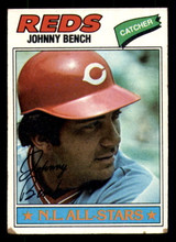 1977 Topps #70 Johnny Bench Very Good  ID: 312337
