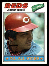 1977 Topps #70 Johnny Bench Excellent  ID: 312338