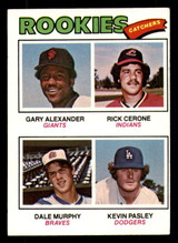 1977 Topps #476 Gary Alexander/Rick Cerone/Dale Murphy/Kevin Pasley Rookie Catchers Excellent+ RC Rookie  ID: 312339