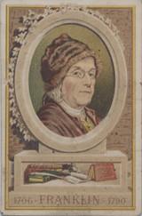 1900's Paris France Benjamin Franklin 1706-1790  #*