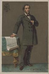 1895 Hachette, France Abraham Lincoln Ex+  #*