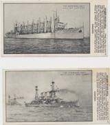 1920's Ward Baking Company U.S. Naval Ships Lot 2  #*