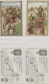 1908 F925 In The Far West Cowboys & Indians Set 6  #*