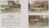 1940 F1408 Prehistoric Dwelling Set 6  #*