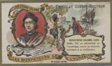 1900 Guerin Bourton Paris, France Benefactors Of Humanity Chistopher Columbus Ex-Mt  #*