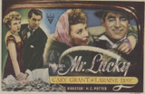 1950s Film Poster Mr. Lucky Cary Grant Nr-Mt  #*