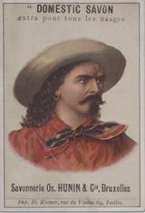 1900 Savonnerie Hunin, Belguim Buffalo Bill Ex  #*