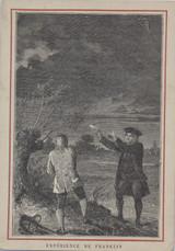 1890 Ben Franklin Inventions Paris France Hachette  #*