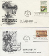 1968-1974 First Day Covers Daniel Boone Lot Of (2)  #*