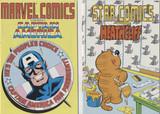 1987 MARVEL COMICS ENTERTAINMENT LOT (2) 16 PAGES COMICS  #*