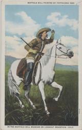 1931 Buffalo Bill Lookout Mountain Colo. Post Card  #*
