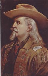 1950's Buffalo Bill Post Card  #*