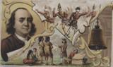 1890 K11 Arbuckle Bros.#50 Ben Franklin Ex  #*