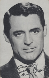 1940's to1950 EXIBIT CARD CARY GRANT (OLDER)  #*