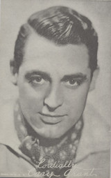 1940s EXIBIT CARD CARY GRANT (YOUNGER)  #*