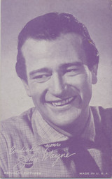 1950 Exibit Card John Wayne Blank Back  #*
