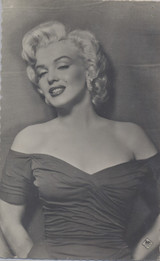1950's #882 Post Card French Marilyn Monroe   #*