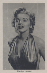 1950's Marilyn Monroe 3 1/2 by 5 1/2 Inches  #*