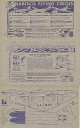 "1948 Nabisco Flying Circus F275-5 Set 36 """" Tough Set  #*"