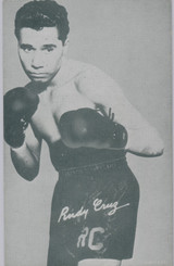1947/1966 Boxing Exhibit Randy Cruz  #*