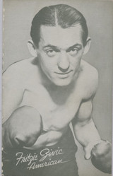 1947/1966 Boxing Exhibit Fritie Ginic American  #*
