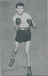 1947/1966 Boxing Exhibit Tommy Yarosz  #*