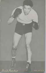 1947/1966 Boxing Exhibit Bob Pastor  #*